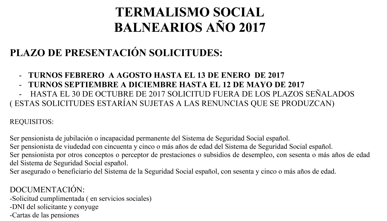 TERMALISMO SOCIAL
