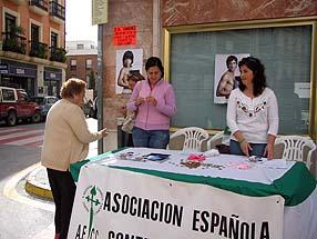 La Junta Local repartió folletos a los transeúntes