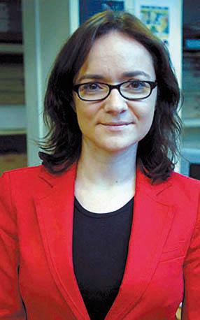 """Magdalena Trillo,periodista ruteña, directora de """"Granada Hoy"""""""