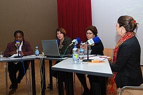 Por primera vez la mesa redonda ha estado formada íntegramente por mujeres