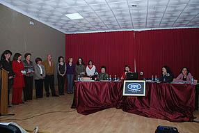 La delegación de la Mujer rinde homenaje a la mujer ruteña