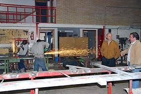 El alcalde confía en que con este taller se sienten las bases del futuro centro de formación