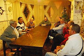 Los pescadores pretenden trasladar sus inquietudes al  delegado de Medioambiente