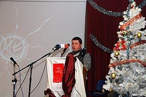 El acto incluyó la lectura de los textos ganadores del segundo concurso de relatos