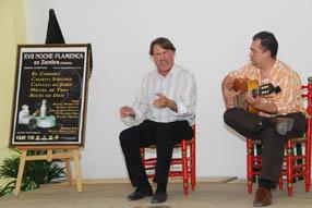 La presentación del cartel contó con la  actuación del cantaor lucentino David Osuna