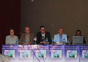 Representantes de las administraciones y colectivos  implicados en la elaboración de la guía
