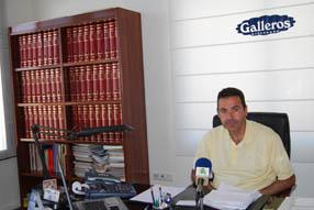 El gerente de Galleros, Jorge Garrido, lleva varias  semanas trabajando para integrar la nueva empresa