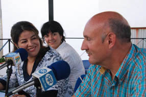 El alcalde y la concejala Ana Lazo estuvieron presentes en  la clausura