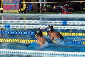 Los nadadores ruteños volvieroh a exhibir su enorme potencial en Montoro