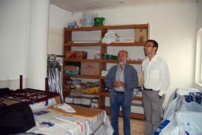 Las reformas hechas en el almacén han permitido la redistribución de todo el material