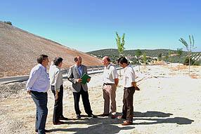 Altamirano confía en que se pueda cumplir el plazo del delegado para la carretera de Encinas Reales