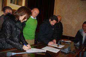 El pasado 24 de febrero se firmaron los documentos de inicio  de obra/MM