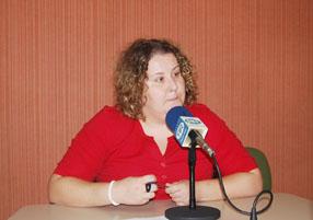 Rosa Granados  hace un llamamiento al voluntariado de Rute