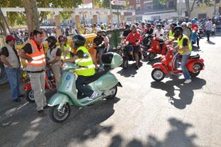 El Paseo del Fresno se llenó de ejemplares de  esta famosa motocicleta