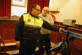 Según el jefe de la Policía, el nuevo radar  cuenta con las últimas prestaciones tecnológicas