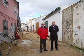 Al término de estas obras, quedará culminada la  segunda fase del arreglo de la calle Saladillo