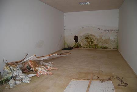 Las obras de la Ludoteca continúan presentando  problemas de humedad