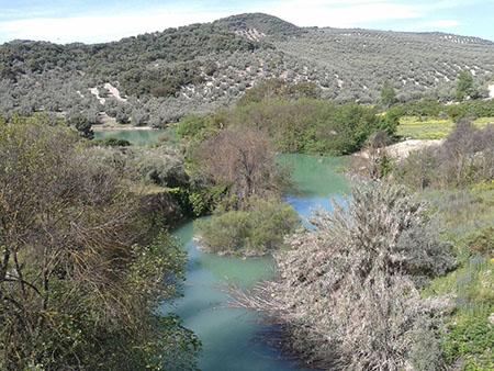 Estado del rio la Hoz en la actualidad