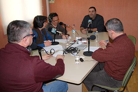 Representantes de colectivos y colaboradores de Radio Rute han aportado su visión de lo que ha dado de sí el último año