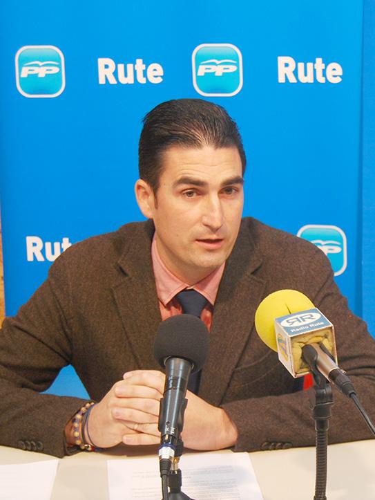 El  diputado del área de Deportes de la Diputación durante una comparecencia  pública/ Archivo.