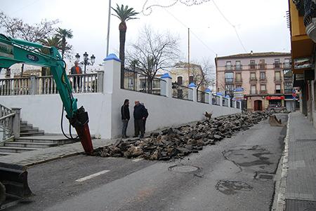 Se prevé que las obras de la calle Duquesa estén listas  para mayo o junio