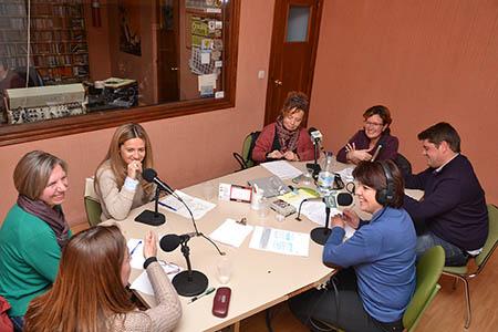 Para el especial se contó con representantes de  los grupos políticos en el Ayuntamiento y del tejido asociativo ruteño
