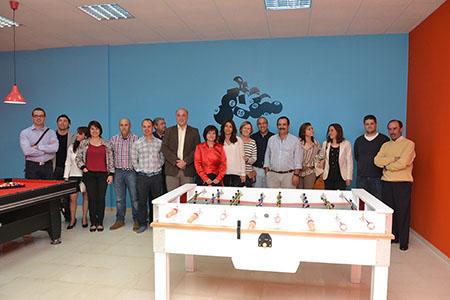 """El AMPA """"El Junquillo"""" y la Corporación  municipal han trabajado conjuntamente para que este proyecto sea una realidad"""
