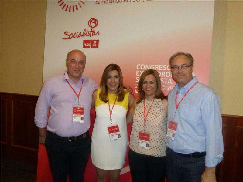 Juan  Pablo Durán pasa a formar parte de la dirección federal y Antonio Ruiz y María  Jesús Serrano al comité federal