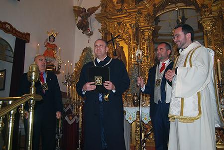 El nombre del pregonero y los hermanos mayores  se dieron a conocer en los actos conmemorativos del patronazgo de la Virgen del Carmen
