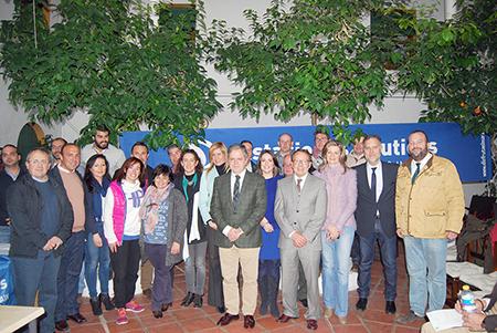 """Un  nutrido grupo de empresarios de Rute participaron en el encuentro sobre el  proyecto de la Estación Náutica """"Lago de Andalucía"""""""