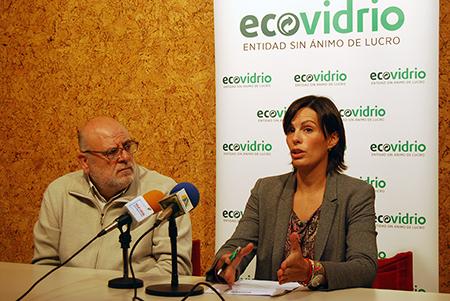 La gerente Coral Rojas-Marcos ha destacado que Rute está por encima de la media provincial en reciclaje de vidrio