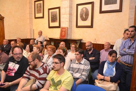 El pleno contó con la presencia de miembros de la archicofradía de la Virgen del Carmen y la Comisión Pro-Coronación Canónica