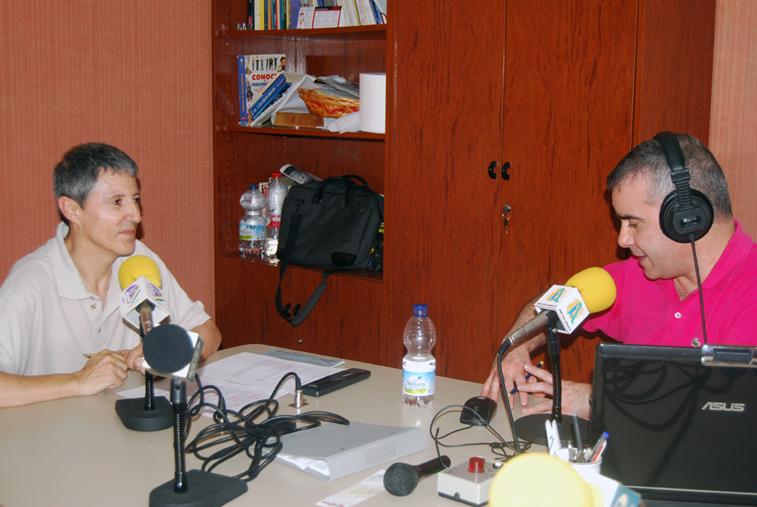 Antonio Navajas ha comparado en Radio Rute los datos históricos de temperaturas máximas alcanzadas en nuestro pueblo