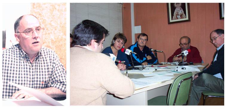 """Durante muchos años José Rabasco colaboró en Radio Rute en programas como """"El Mirador"""""""