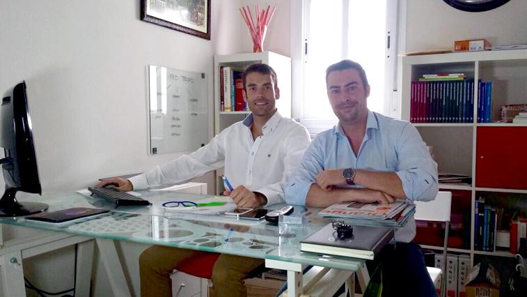 Pedro Aguilera y José Antonio Borrego dirigen Red Tecno y son socios de SM Franquicias