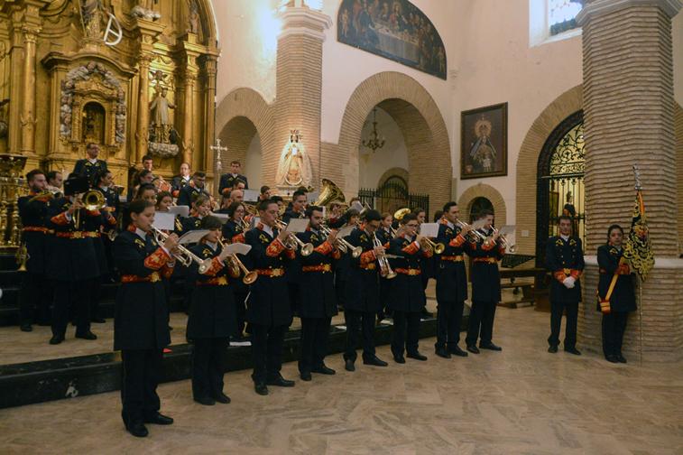 La agrupación estrenó dos marchas de su nuevo repertorio en el concierto de Santa Catalina