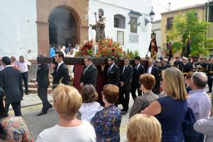 La procesión de San Francisco de Asís recorrió los alrededores de la parroquia del mismo nombre