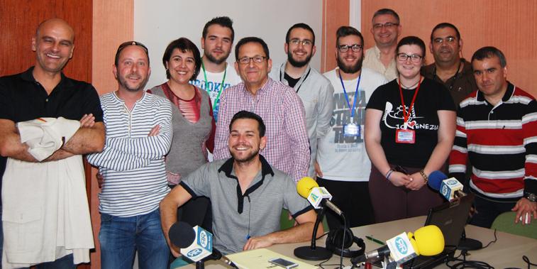 Un grupo formado por doce personas posibilitó toda la cobertura necesaria en la jornada electoral del 25-M