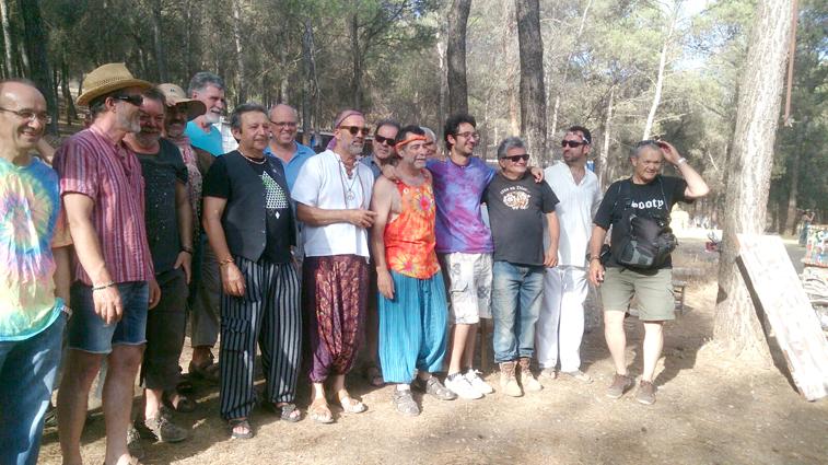 A raíz de la visita del equipo de rodaje de Málaga a la sierra de Rute se gestó esta jornada poética