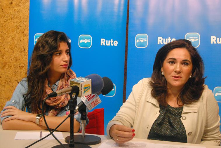 """María de la O Redondo y Carmen María Arcos criticaron los """"incumplimientos"""" de la Junta"""