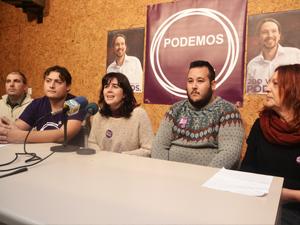 Antes de acudir al Fresno, los representantes locales y las candidatas al Congreso y el Senado por Córdoba atendieron a los medios