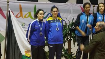 La jugadora ruteña y Carla Moyano quedaron finalistas en la fase de Arjonilla