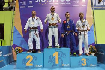 El luchador ruteño ha renovado un título que ya logró en 2010