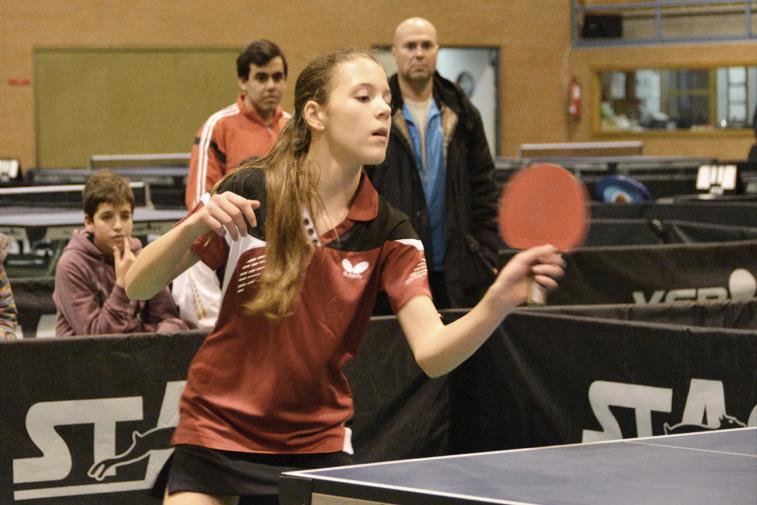 La joven jugadora ruteña ha acudido a estos campeonatos como integrante de Cajasur Priego