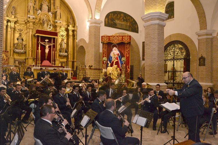 La Banda Municipal suele preparar cada año un repertorio que ronda las cincuenta marchas