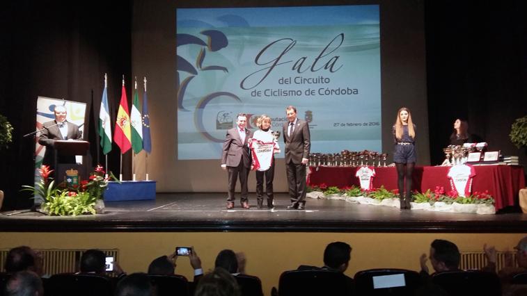 La gala de entrega de premios se celebró en Lucena, sede de la primera prueba del circuito