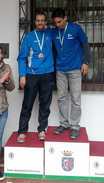 Luis Pulido podium