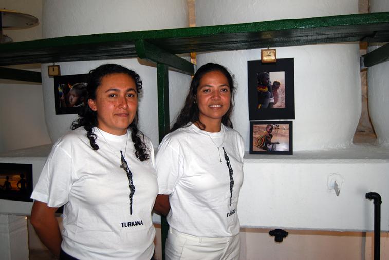 Las cooperantes Luz María Mejías y Alexia Moreno han dado a conocer en Rute la misión de Kokuselei