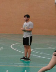El nuevo entrenador estudia 2º curso de Ciencias Físicas y del Deporte en Granada
