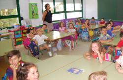 Ruperto Fernández  acoge doscientos veinte alumnos y cuenta con trece maestros